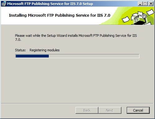 FTP7 설치 마법사 : Installing Microsoft FTP Publishing Service for IIS 7.0